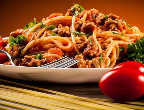 Milano Spaghetti with spring onions